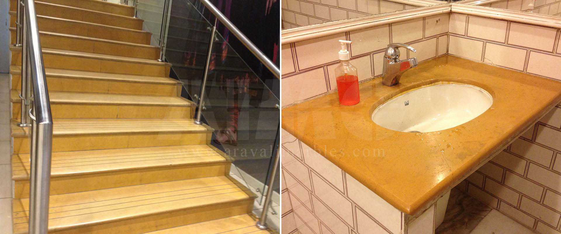 Jaisalmer Yellow Marble Manufacturer Suppliers Exporters In India